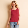 Ladies Women Gildan Softstyle Plain Cotton Polyester Sleeveless Vest Tank Top