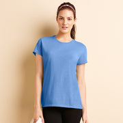Ladies Women Gildan Performance Short Sleeve 100% Polyester Colour T Shirt Top