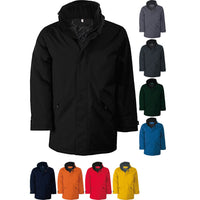 Mens Kariban Parka Winter Colour Jacket Coat