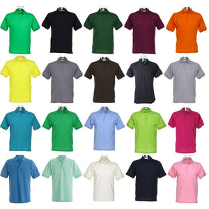 Mens Kustom Kit Klassic Polo Neck Collar with Superwash® Colour Shirt Top