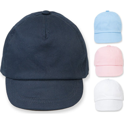 Baby Toddler Larkwood 100% Cotton Twill Soft Peak Cap Hat