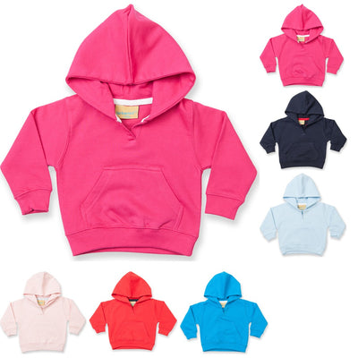 Toddler Child Larkwood Hoodie Hooded Cotton Sweat Shirt Top with Kangaroo Pocket