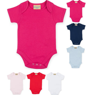 Baby Toddler Larkwood 100% Cotton Short Sleeve Body Suit