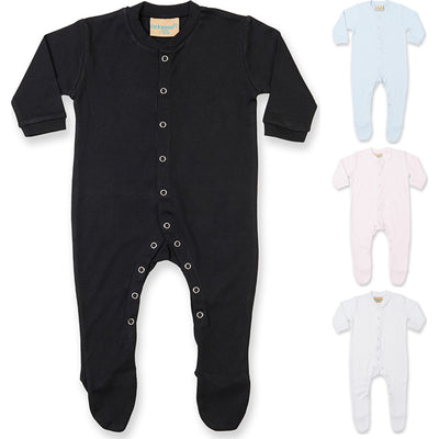 Baby Larkwood Long Sleeve 100% Cotton Full All in One Sleep Suit