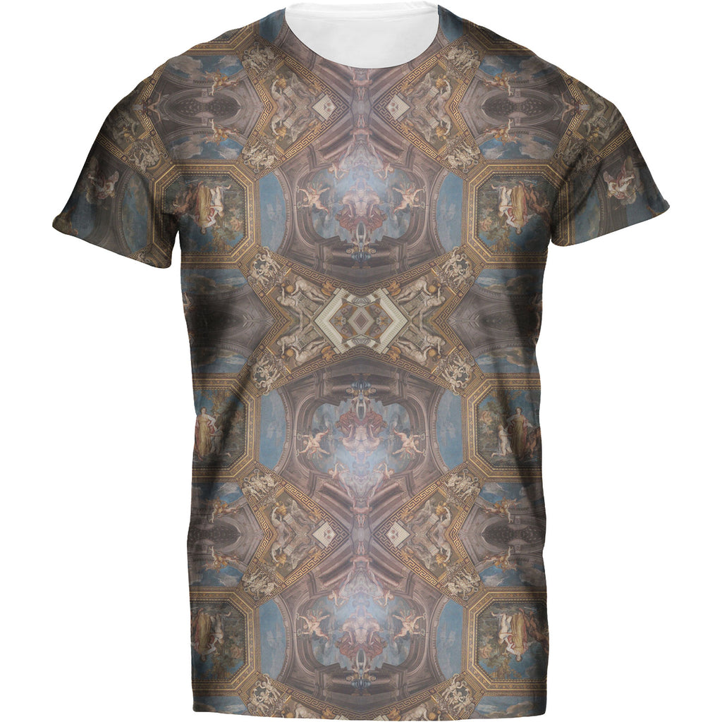 Mens Tshirt Roman Ceiling Design