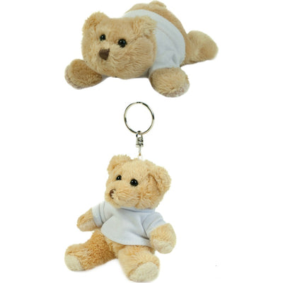 Mumbles Binx Plush Fur Toy Teddy Bear with T Shirt Fridge Magnet Paws Key Ring