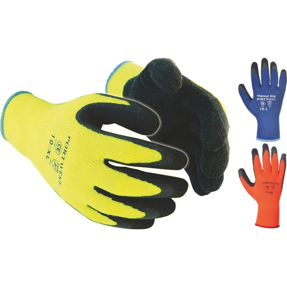 Portwest Winter Warm Thermal Grip Gloves