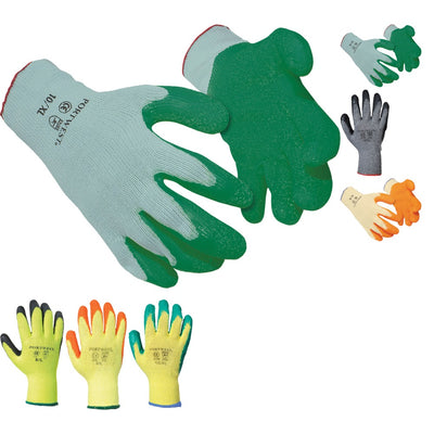 Portwest Fortis Grip Construction Builder Gloves