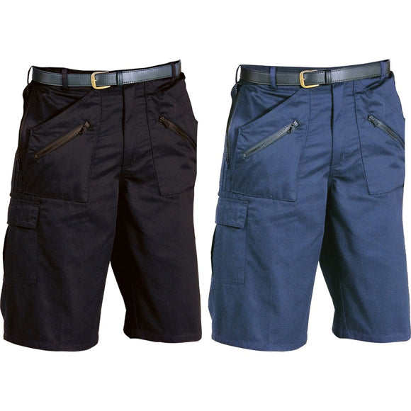 Mens Portwest Action Shorts with Zip Pockets