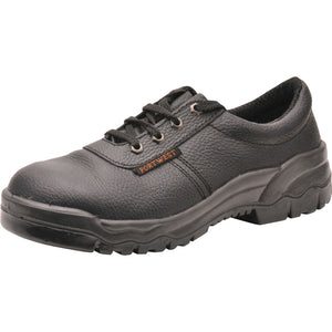 Mens Portwest Split Buffalo Leather Protector Steel Toe Cap Shoe Boot