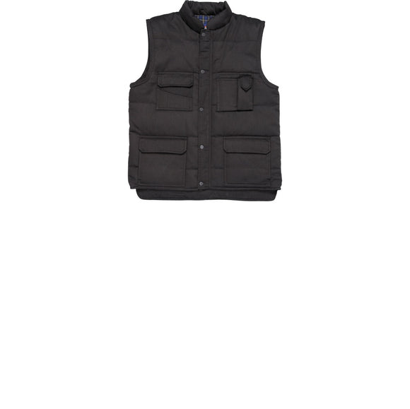 Mens Portwest Colour Shetland Body Warmer Sleeveless Jacket (S414)