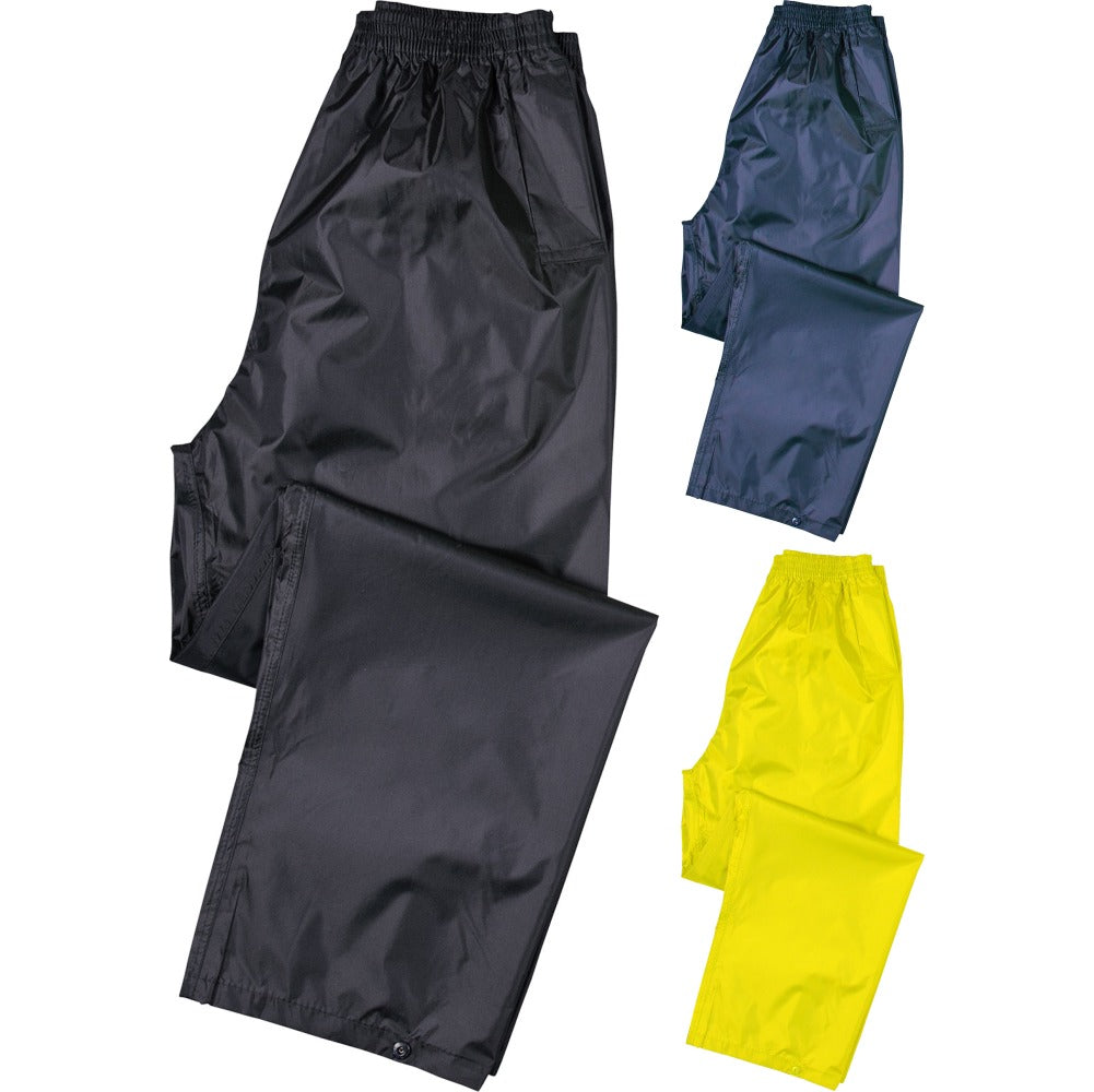 Mens Portwest Classic Rain Trouser Bottoms Pant (S441)
