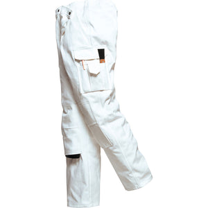 Mens Portwest 100% Cotton Painter Decorator Trouser Craftsman DIY Bottom Pants