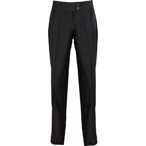 Ladies Women Premier Iris Straight Leg Spa Beauty Deep Waist Trouser Bottom Pant