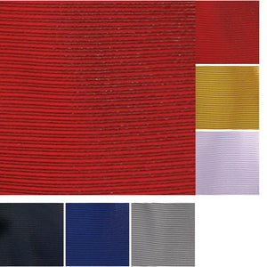 Mens Premier Smart Formal Horizontal Stripe Design Tie