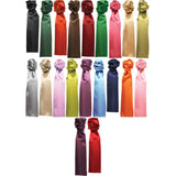 Ladies Women Premier Plain Colour Uniform Neck Scarf