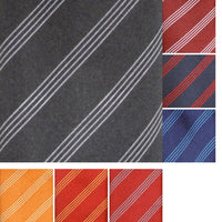 Ladies Women Premier Four Stripe Neck Scarf