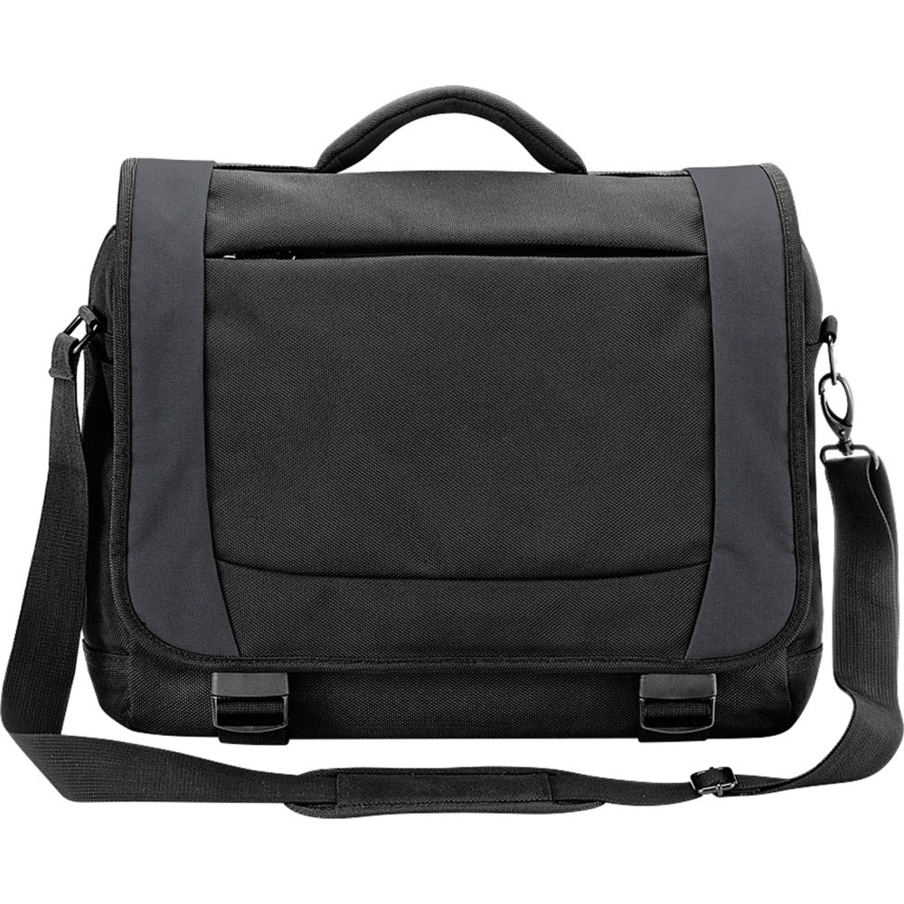 Quadra Tungsten™ 15.6 Inch Laptop Briefcase Case Bag with Shoulder Strap