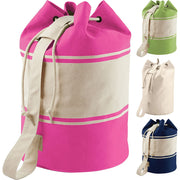 Quadra 100% Cotton Canvas Duffle Bag Case
