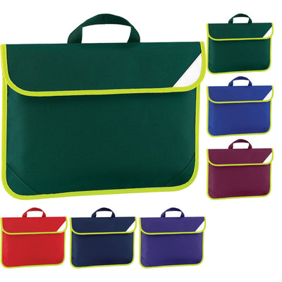 Quadra Enhanced Viz School Document Book Bag Case