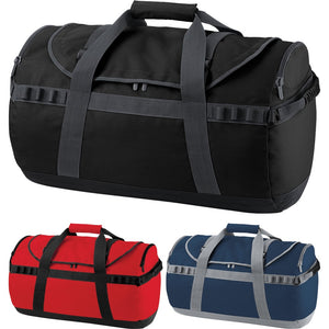 Quadra Pro Cargo Bag with Backpack Shoulder Straps Grab and Handles