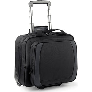 Quadra Tungsten Mobile Office Bag Case with Tow Handle
