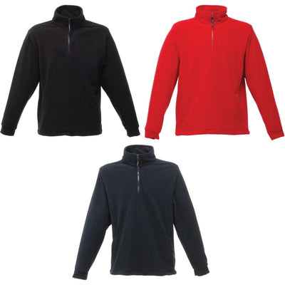 Mens Regatta Profesional Overhead Fleece Jacket Top