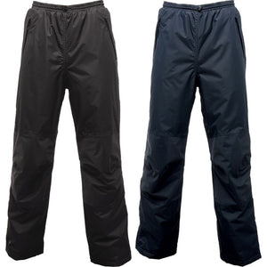 Mens Waterproof Windproof Regatta Wetherby Insulated Over Trousers Pant