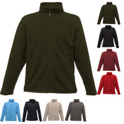 Mens Regatta Full Zip Micro Fleece Jacket Top