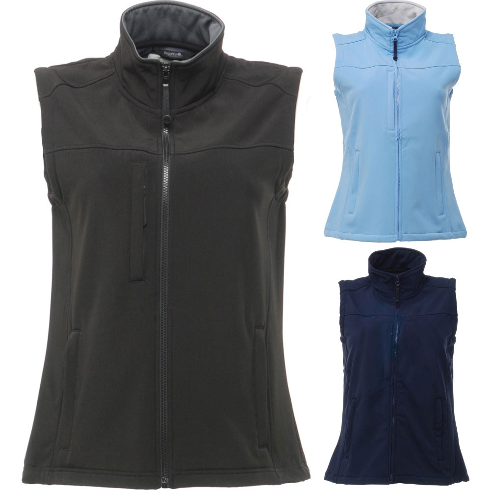 Ladies Women Regatta Flux Softshell Body Warmer Jacket Coat Top