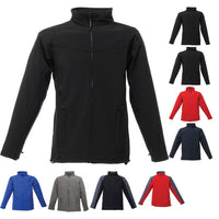 Mens Regatta Uproar Softshell Colour Winter Warm Jacket Coat