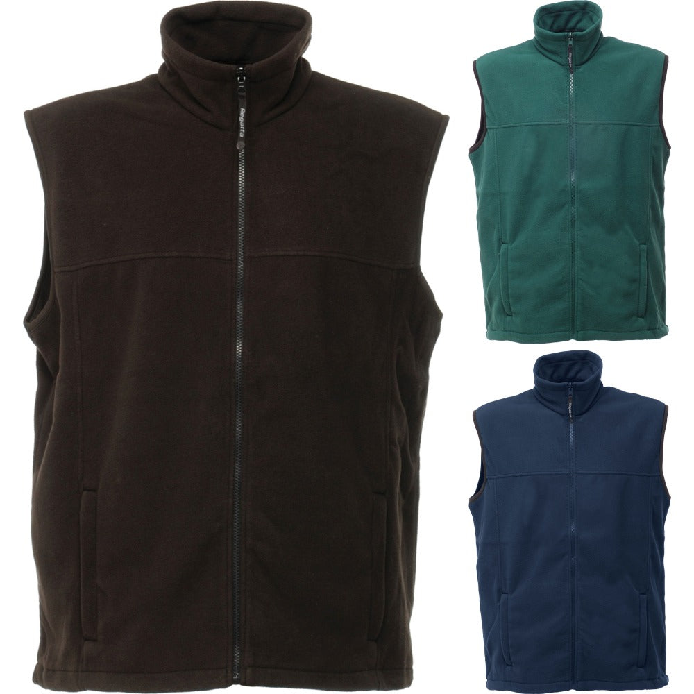 Mens Regatta Haber II Anti Pill Fleece Winter Warm Body Warmer Jacket Top