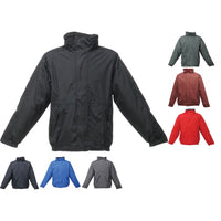 Mens Regatta Dover Waterproof Colour Winter Warm Coat Jacket Top