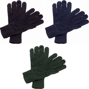 Adult Unisex Regatta Knitted Knit Ribbed Gloves