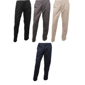 Mens Regatta New Action Part Elasticed Waist Trouser Pant Bottom