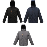 Mens Regatta X-Pro Repeller Softshell Waterproof Warm Back Jacket Top