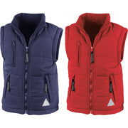 Junior Kid Youth Children Result Winter Ultra Padded Body Warmer Jacket Coat Top