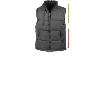 Mens Result Ultra Padded Body Warmer Sleevless Winter Warm Water Jacket Coat Top