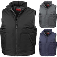 Mens Result Adventure Winter Fleece Lined Body Warmer Jacket Coat