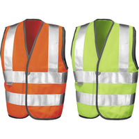 Kid Children Junior Safeguard High Visbility Hi Vis Vest EN1150 Class 2