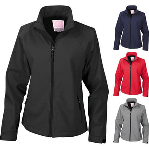 Ladies Women Result La Femme® 2 Layer Base Softshell Light Winter Warm Jacket