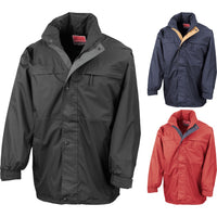 Mens Result Multi Result Function Midweight Full Zip Jacket Coat