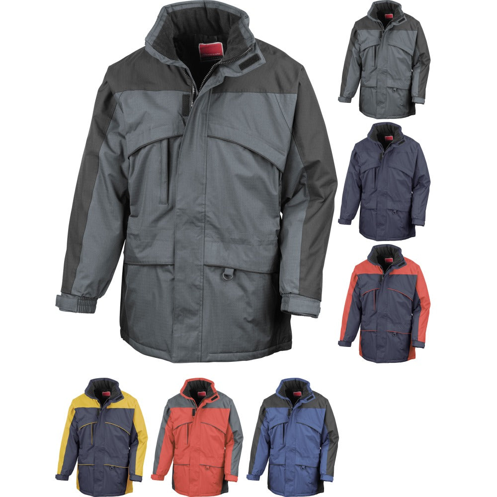 Mens Result Seneca Hi Activity Winter Warm Jacket Coat