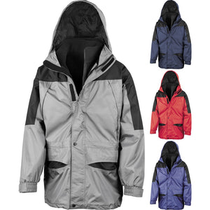Mens Result Alaska Ski 3-in-1 Winter Warm Waterproof Jacket Coat