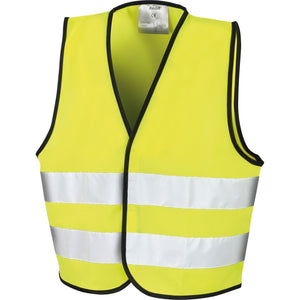 Kid Children Youth Boy Girl Result Core High Visibility Hi Vis Safety Vest Top