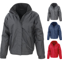 Mens Result Core Channel Winter Thermal Fleece Waterproof Jacket Coat Top