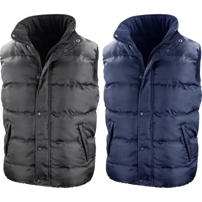 Mens Result Core Nova Lux Winter Warm Body Warmer Padded Gilet Jacket