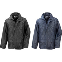 Mens Result Core StormDri Waterproof Rain Jacket Coat