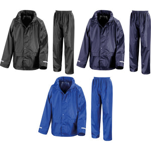 Kid Children Result Core Rain Waterproof Windproof Suit Trouser and Jacket Top
