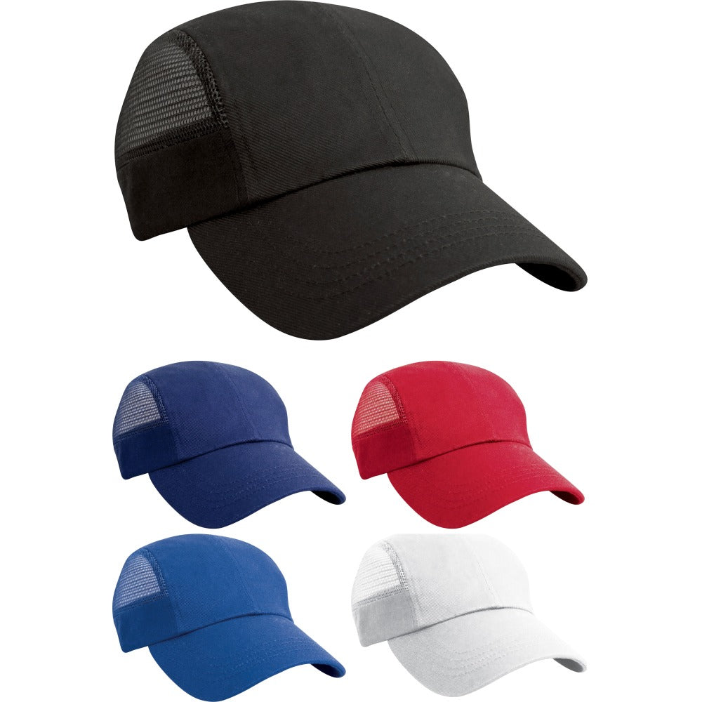 Mens Result 100% Heavy Cotton Low Profile Sport Baseball Cap Hat